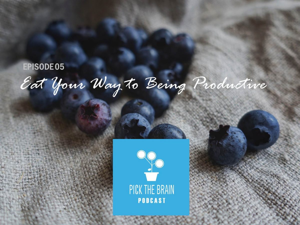 How to Eat Your Way to Being More Productive
