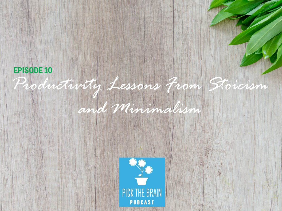 Less is More: Productivity Lessons from Stoicism and Minimalism