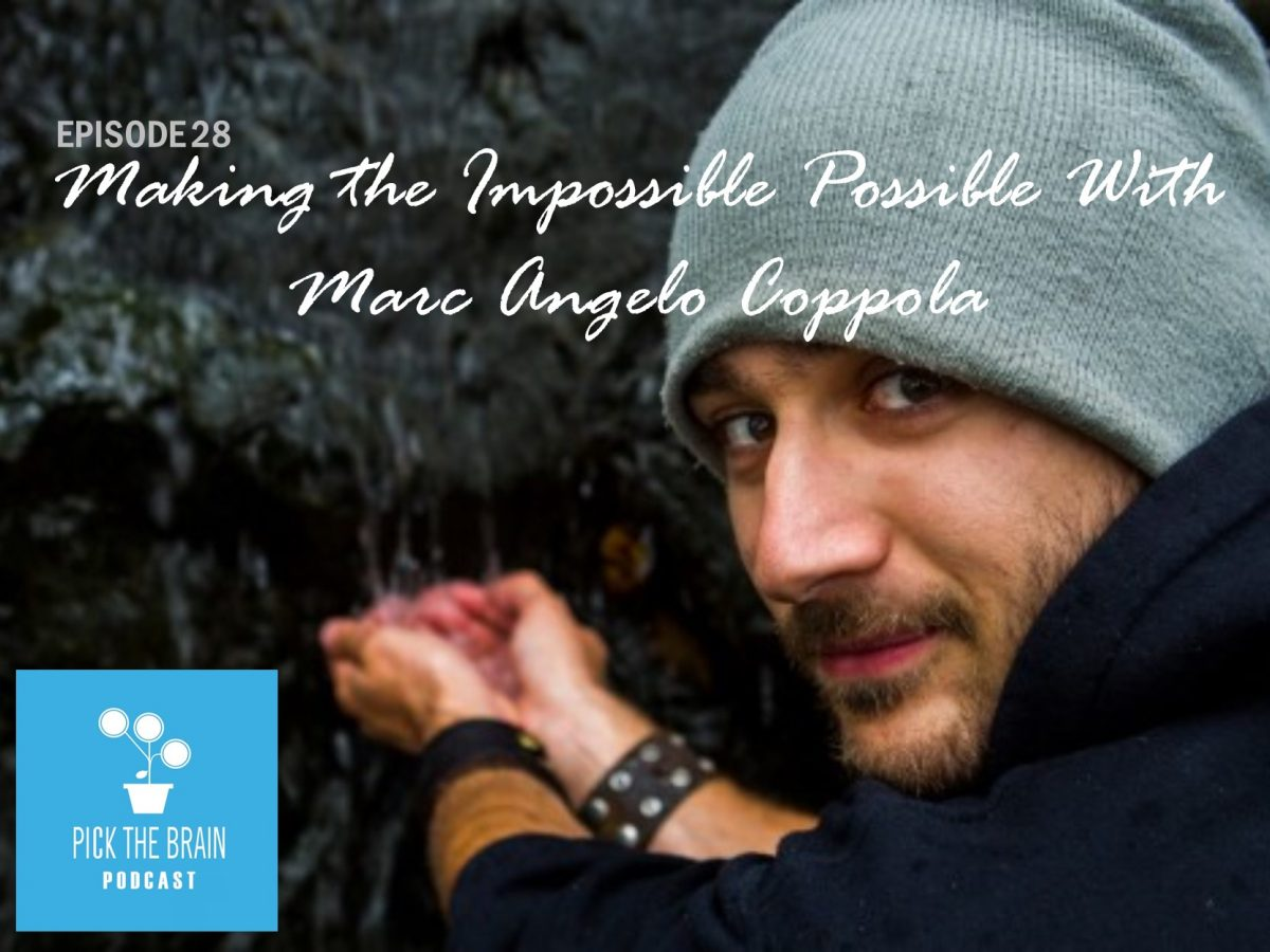 Making the Impossible Possible with Marc Angelo Coppola